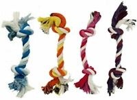 Puppy Rope Toys for Small Dogs Puppy Teething Toys Puppies Dog Pet 4 Pack