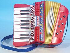 Bontempi Kinder-Akkordeon 17 Tasten Harmonica AC 1780 NEU ovp 262392