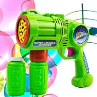 Bubble Gun Blower for Kids, Automatic Bubble Blaster Machine Toys for Toddlers
