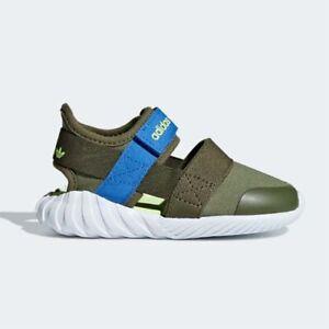 Adidas CG6601 infant toddler sandals Doom kids khaki blue