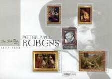Belgique 2018 neuf sans charnière Peter Paul Rubens 5 V M/S Nus Nude Paintings Art STAMPS