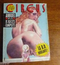 BD adulte CIRCUS ANNUEL 1986 35 récits complets
