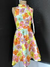 New Tracy & Michael Vintage Style 1950s 50s Neiman Marcus Floral Party Dress 6 M