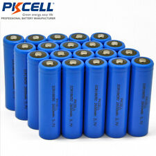 15Pcs 18650 2600mAh 3.7V Li-ion Rechargeable Batteries Button Top Battery PKCELL