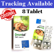 Bayer Drontal For Cats and Kittens Dewormer 8 Tablets