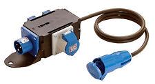 Stromverteiler Mixo Saale CEE 230V 16A und Steckdosen, Top für Vorzelt Art. 161