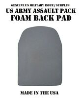 US MILITARY MOLLE FIELD BACKPACK ASSAULT PATROL PACK BLACK FOAM BACK PAD PADDING