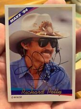 Richrd Petty Autograph 1994 Maxx Card NASCAR Legend #43 Signed Auto STP Racing
