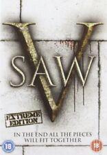 Saw V  DVD New & Sealed  5060052417398