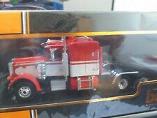 Peterbilt 359 camion 1973 Rouge Blanc 1:43 Ixo