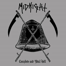 Midnight - Complete and Total Hell 2 x LP GOLD Vinyl Thrash Punk Black Metal