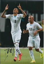 Abel HERNANDEZ Signed Autograph 12x8 Photo AFTAL COA Uruguay Hull City