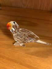 swarovski crystal figurines Parrot