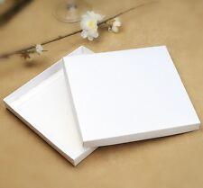 25 x White Square Invitation Box - 160 x 160mm Semi Gloss