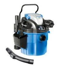 Wet Dry Vacuum Wall Mount Portable Powerful Bare Floor Carpet with 2-Stage Motor