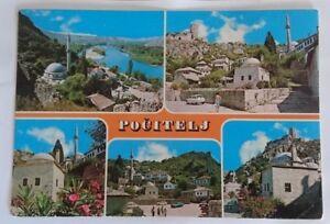 Mosque  POCITELJ  Bosnia-Herzegovina  ISLAM  1981 MUSLIM post card