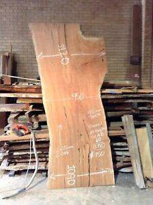 Redgum Dining Table Top No 176