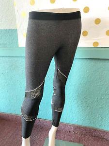 Victoria's Secret Pink Yoga Ankle Legging Dark Gray NWT