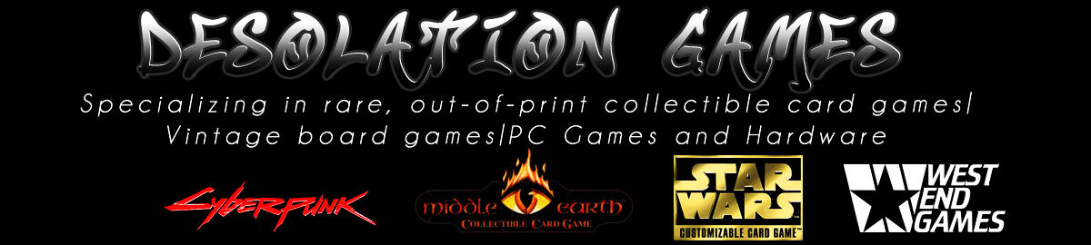 Desolation Games
