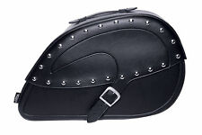 Castle Streetbags Studded Contour Saddlebags Harley Motorcycle Touring 21L- Pair