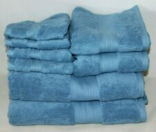 Ralph Lauren Bowery Eight Piece Bathroom Towel Set Sky Blue New