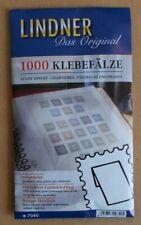 More details for lindner 1000 stamp hinges - choose number of packs from drop down menu.