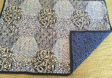 Martha Stewart Cobalt Blue/White 100% Quilted Cotton Standard Pillow Sham