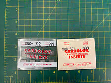 Pack of 10 Carboloy Cemented Carbides SNG 322 999