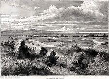 CAMPO di BATTAGLIA di CANNE,tra Romani e Cartaginesi.Ofanto.Barletta.Puglia.1877