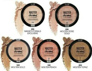 MAYBELLINE Master Chrome Highlighter Powder 6g- Choose your shade- NEW