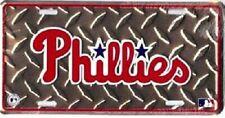 Philadelphia Phillies MLB Diamond Plate License Plate