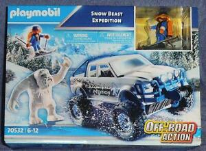 Playmobil Snow Beast Expedition, New in Sealed Box, Free Shipping