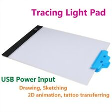 Dimmable A4 Ultra Thin Art Stencil Light Pad Tracing Board Animation Drawing Box