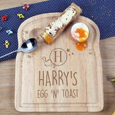 Kids Birthday Christmas Children Gift Personalised Egg and Toast Dinosaur Board