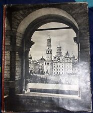 Russia, Moscow Kremlin photobook, 190 pages with photos, 1958, super condition