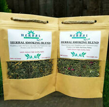 Herbal Smoking Blend/Herbal Mix for Smoking/Nicotine Free/ SET OF 2 FLAVOUR