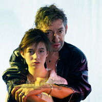 PHOTO Charlotte & SERGE GAINSBOURG  N°276-06   =  20x20cm