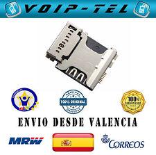 LECTOR DE SIM Y MICRO SD SLOT SAMSUNG GALAXY I8260 I8262 I8580 G350 G530 G530FZ