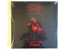 KING DIAMOND IN CONCERT 1987 ABIGAIL LP 2014 METAL BLADE REPRESS MERCYFUL FATE