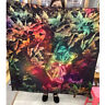 "70% Cashmere 30% Silk Thin Scarf Fashion Double-sided Print Shawl Stole 53""*53"""