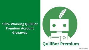 Quillbot Premium Annual - Share account