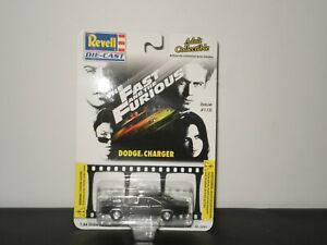 THE FAST AND FURIOUS DODGE CHARGER ISSUE #115 REVELL DIE-CAST 2002