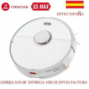 ROBOROCK S5 MAX ROBOT ASPIRADOR BLANCO VACUUM CLEANER APP 2000PA MASCOTA BARRIDO