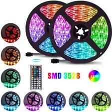 1-20M RGB 3528 LED Strip Lights With IR Remote Colour Changing Back Light 12V AU