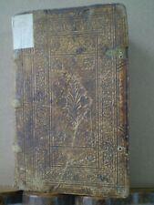 Alte Drucke - Blindgeprägter Lederband 1599