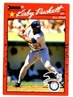 1990 Donruss  Baseball Cards  Kirby Puckett Card #683  Mint Condition