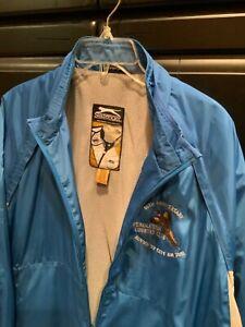 Men's Slazenger Golf Jacket Zip Front Blue/gray Pendleton NWT Large L