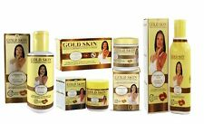 Gold Skin Clarifying Argan Oil Set of 5(Oil,Soap,Lotion,Sport Remover,Clarifying