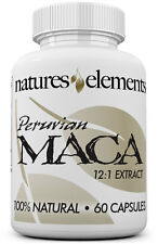 Peruvian Maca Extract Capsules - FAST SHIPPING - 1 Month Supply - 12:1 Extract!