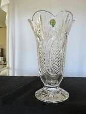 "Waterford ""Seahorse"" Vase 10in. Made in Ireland"